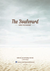 The Boulevard Main Menu linking to a PDF